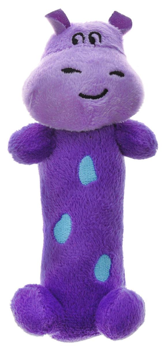 WeeWise Мягкая игрушка-погремушка Бегемот weewise моя первая погремушка