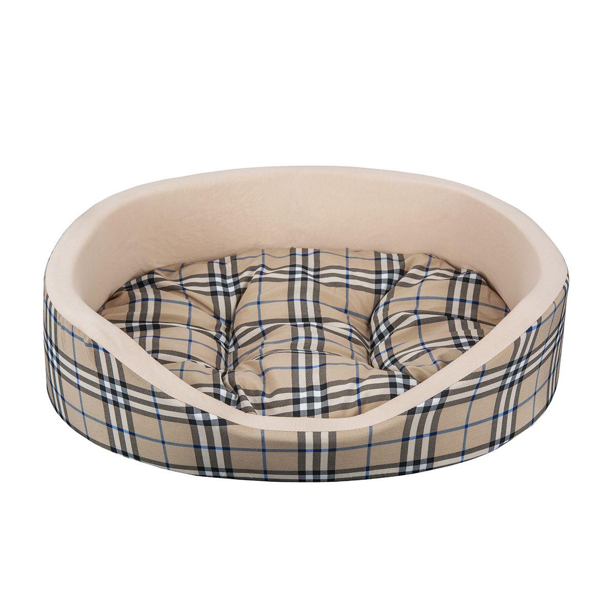 Лежак для животных Dogmoda Клетка, 48 х 39 х 15 см0120710Лежак для животных Dogmoda Клетка прекрасно подойдет для отдыха вашего домашнего питомца. Предназначен для кошек и собак мелких и средних пород. Изделие выполнено из хлопка с принтом в клетку. Внутри - мягкий наполнитель из поролона, который обеспечивает комфорт и уют. Лежак снабжен съемной подушкой с холлофайбером внутри. Комфортный и уютный лежак обязательно понравится вашему питомцу, животное сможет там отдохнуть и выспаться. Высокий уровень комфорта, спокойный благородный цвет и мягкость сделают этот лежак любимым местом отдыха вашего питомца.