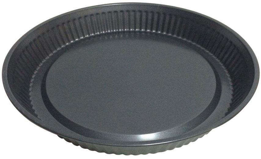 Форма для выпечки BK-398394672d-30*4см, корпус 0,4мм, антиприг. покрытие Goldflon . Состав: углеродистая сталь.