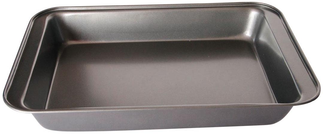 Противень Bekker, 43 х 29 х 5 см. BK-399754 009312Противень Bekker прямоугольной формы изготовлен из высококачественной углеродистой стали с антипригарным покрытием Goldflon. Изделие имеет гладкую поверхность. Подходит для использования в духовом шкафу. Рекомендована ручная чистка.