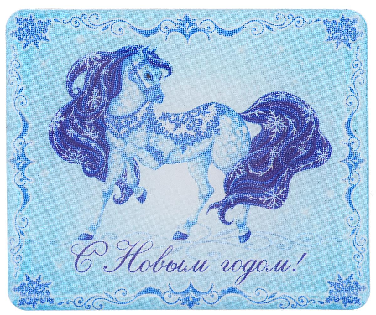 Магнит Феникс-Презент Magic Time, 6 x 5 см20762Магнит Прямоугольной формы Феникс-презент Magic Time, выполненный из агломерированного феррита, станет приятным штрихом в повседневной жизни. Оригинальный магнит, декорированный изображением лошади, поможет вам украсить не только холодильник, но и любую другую магнитную поверхность. Материал: агломерированный феррит.