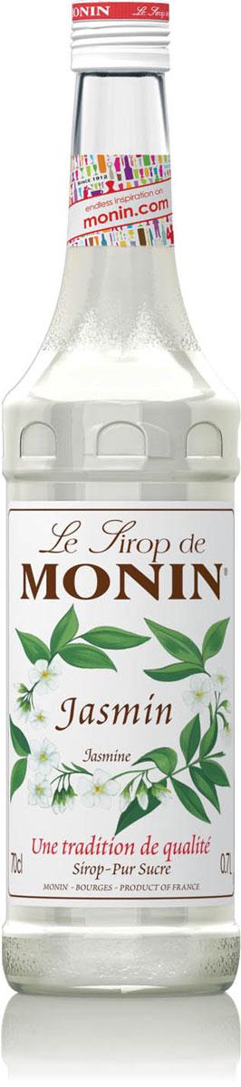 Monin Жасмин сироп, 0,7 лSMONN0-000080Жасмин символизирует женскую сладость и красоту. Это, в основном, хорошо известно ведущим производителям духов, но его мощный аромат допускает неограниченное количество приложений. Используемый в ароматерапии, жасмин создает ощущение уверенности и оптимизма. Потребляемый как известный жасминовый чай, он оживляет и восстанавливает баланс энергии. Сиропом Monin Жасмин можно наслаждаться в любое время.ВКУСЗапах свежего среза цветов жасмина, нежный, сладкий цветочный вкус.ПРИМЕНЕНИЕЧай, коктейли, холодное молоко.Сиропы Monin выпускает одноименная французская марка, которая известна как лидирующий производитель алкогольных и безалкогольных сиропов в мире. В 1912 году во французском городке Бурже девятнадцатилетний предприниматель Джордж Монин основал собственную компанию, которая специализировалась на производстве вин, ликеров и сиропов. Место для завода было выбрано не случайно: город Бурже находился в непосредственной близости от крупных сельскохозяйственных районов - главных поставщиков свежих ягод и фруктов. Производство сиропов стало ключевым направлением деятельности компании Monin только в 1945 году, когда пост главы предприятия занял потомок основателя - Пол Монин. Именно под его руководством ассортимент марки пополнился разнообразными сиропами из натуральных ингредиентов, которые молниеносно заслужили блестящую репутацию в кругу поклонников кофейных напитков и коктейлей. По сей день высокое качество остается базовым принципом деятельности французской марки. Сиропы Монин создаются исключительно из натуральных ингредиентов по уникальным технологиям, позволяющим сохранять в готовом продукте все полезные свойства природного сырья.Эксперты всего мира сходятся во мнении, что сиропы Monin - это законодатели мод в миксологии. Ассортимент французской марки на сегодняшний день является самым широким и насчитывает полторы сотни уникальных вкусовых решений. В каталоге компании можно найти как классические вкусы для кофейных напитков (шо