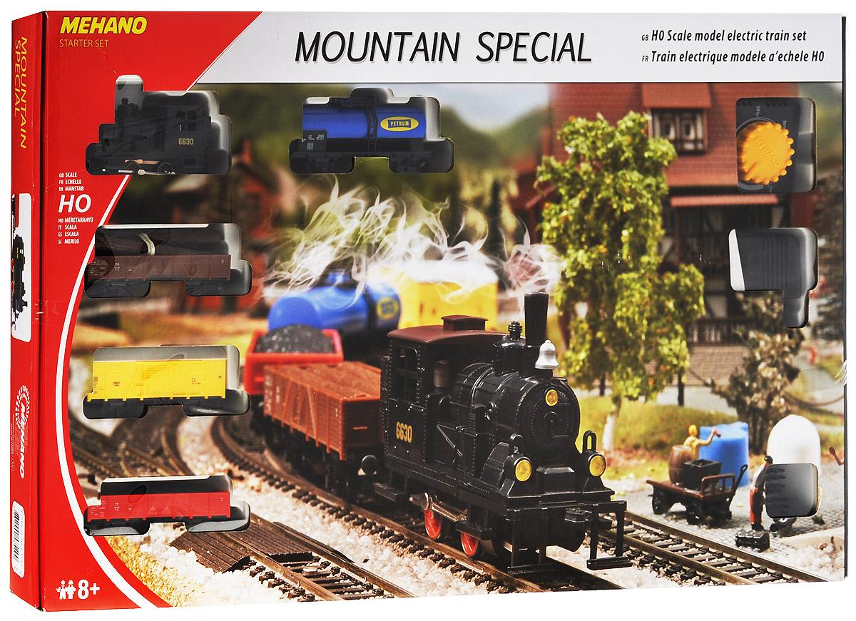 Mehano Железная дорога Mountain Special с элементами ландшафта