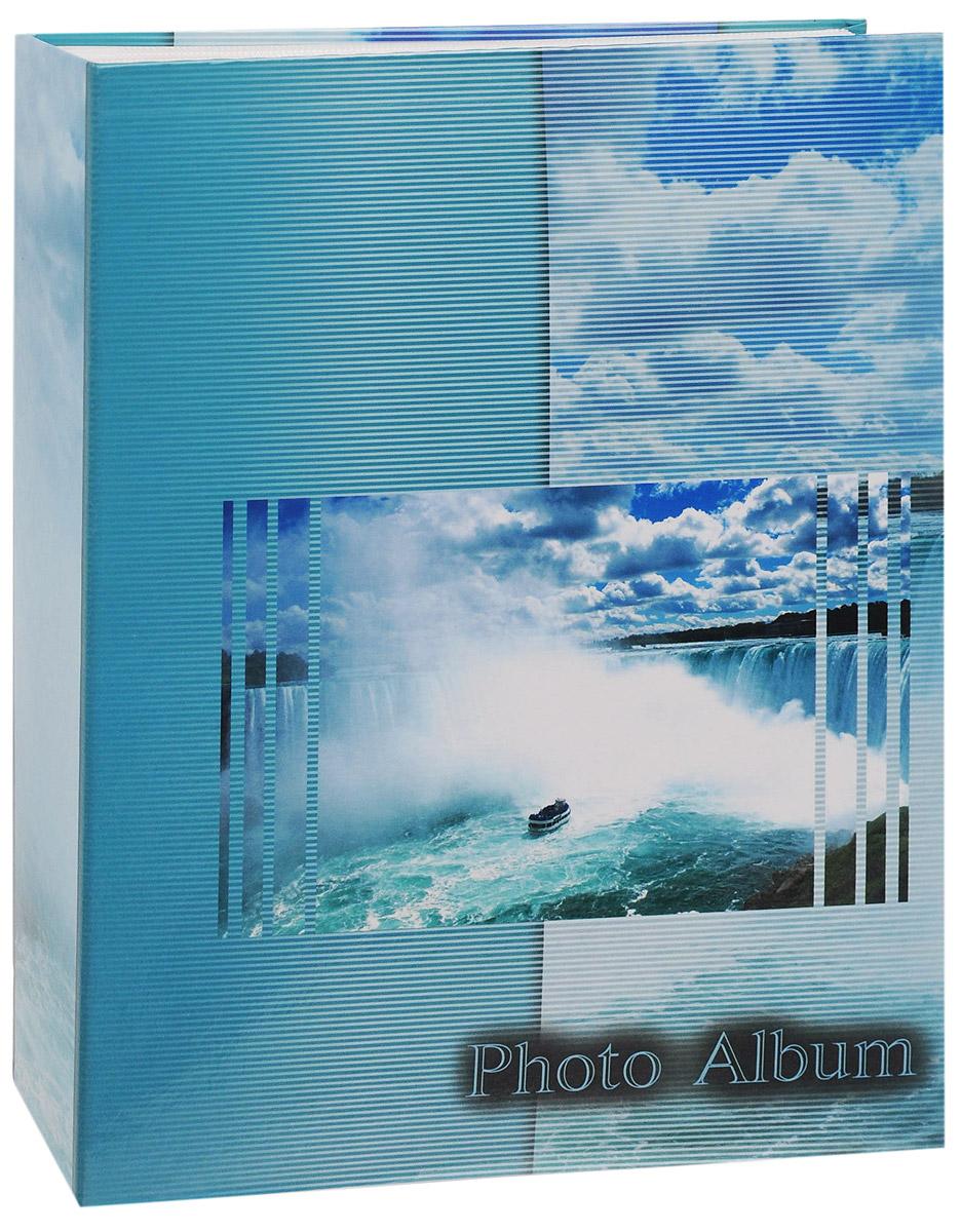 Фотоальбом Big Dog Waterfalls, цвет: голубой, 200 фотографий, 10 х 15 см фотоальбом big dog harley 300 фотографий 10 см х 15 см