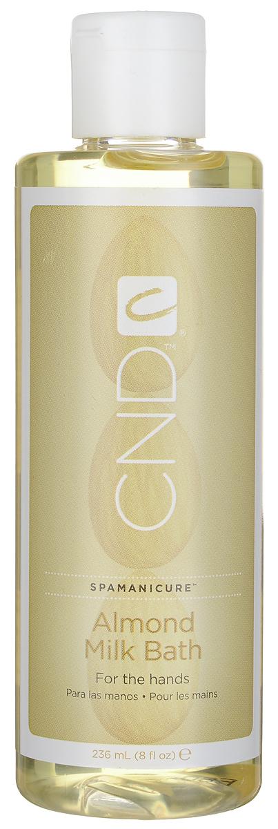CND Молочко для мацерации, с ароматом миндаля, 236 мл28032022Интенсивное, питательное, согревающее миндальное молочко для мацерации CND предназначено для маникюрных ванночек. Входящие в состав активные компоненты, такие как масло сладкого миндаля, масло жожоба и витамин Е глубоко питают, увлажняют кожу и защищают ее от негативного воздействия свободных радикалов. Глубоко кондиционируют кожу и ногти перед процедурой маникюра. При соединении с теплой водой превращается в увлажняющую молочную ванну и образует кружевную пену.Товар сертифицирован.