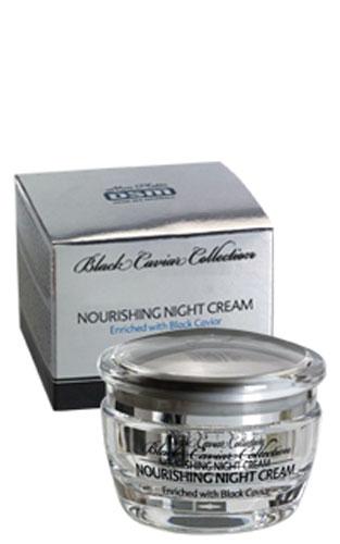 Mon Platin Ночной питательный крем DSM Black Caviar Collection , обогащенный черной икрой 50мл mon platin восстанавливающий шампунь dsm black caviar collection для жирных волос с экстрактом черной икры 400мл