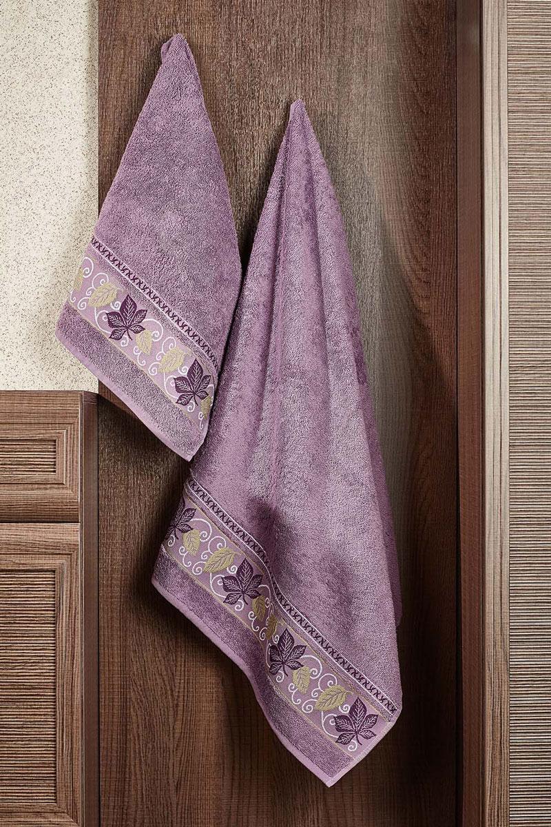 Полотенце махровое Primavelle Lea, цвет: лиловый, 70 х 140 см531-105Махровое полотенце Primavelle Lea, изготовленное из натурального хлопка, подарит массу положительных эмоций и приятных ощущений. Полотенце отличается нежностью и мягкостью материала, утонченным дизайном и превосходным качеством. Оно прекрасно впитывает влагу, быстро сохнет и не теряет своих свойств после многократных стирок. Махровое полотенце Primavelle Lea станет достойным выбором для вас и приятным подарком для ваших близких.