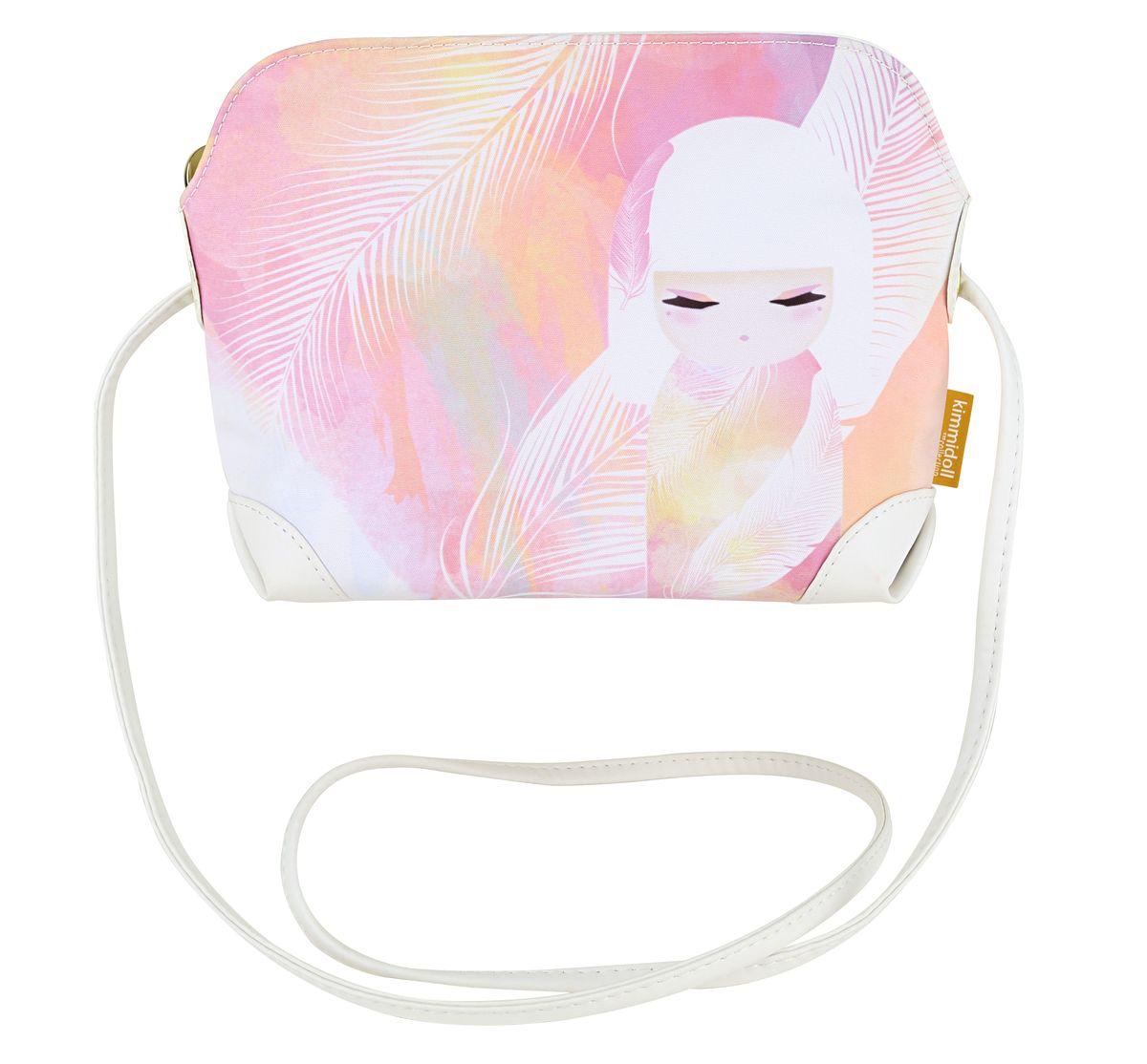 Сумочка Kimmidoll Мизуйо (Очарование). KF1000L39845800Очаровательная сумочка на плечо Kimmidoll Мизуйо (Очарование), выполненная из текстиля в традиционном японском стиле, придется по душе всем ценителям стильных вещиц. Лицевая сторона изделия оформлена изображением Мизуйо и перьев и содержит одно отделение, закрывающееся на застежку-молнию. Бегунок оформлен металлической пластиной с гравировкой Kimmidoll Collection. Сумка оснащена длинным ремешком, позволяющим ее носить как на плече, так и через плечо.Стильная сумочка пригодится вам и в путешествии, и на пикнике, и в повседневном использовании.Привет, меня зовут Мизуйо! Я талисман очарования. Мой дух воодушевляет и радует. Ваша милая и обворожительная натура всегда согревает сердца и поднимает настроение, даря счастье и любовь вашим близким. Позвольте всем, кто знает вас, дорожить вашими редкими и прекрасными талантами.