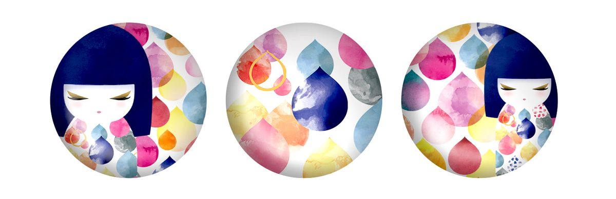 Набор магнитов Kimmidoll Михоко (Творчество)Брелок для ключейКрасочные магниты Kimmidoll Михоко (Творчество) не только помогут вам навести порядок в бумагах и документах, но и станут оригинальным дополнением к вашему рабочему столу или интерьеру. Этот набор стеклянных магнитов покорит не только коллекционеров магнитов на холодильник, но и ценителей необычных и прекрасных украшений для дома.В набор входят 3 магнита. Магниты украшены красочными изображением очаровательных куколок и изысканными узорами. Они без труда крепятся к любой металлической поверхности.Привет, меня зовут Михоко! Я талисман творчества. Мой дух вдохновляет и указывает путь. Давая разуму безграничную свободу исследовать и познавать, вы раскрываете бесконечную силу моего духа. Пусть ваша фантазия всегда вдохновляет вас на новые взгляды, новые поступки и отношение к жизни.