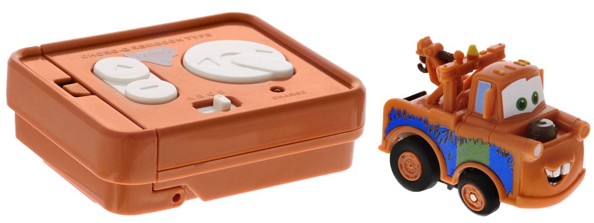 """Машинка на инфракрасном управлении Dickie Toys """"Тачки: Мэтр"""" - это полная копия полюбившегося героя мультсериала """"Тачки"""" эвакуатора Мэтра. 7 функций движения: вперед, вправо, влево; назад, вправо, влево; стоп. Точная настройка управления, 2 скорости, подзарядка от пульта дистанционного управления. Машинка на инфракрасном управлении Dickie Toys """"Тачки: Мэтр"""" станет отличным подарком поклоннику этого популярного мультфильма! Игрушка работает от встроенного аккумулятора. Для работы пульта управления необходимы 4 батарейки типа ААА (не входят в комплект)."""