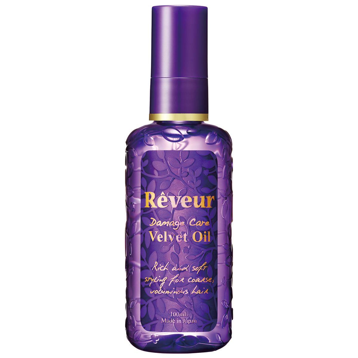 Reveur Масло для волос Velvet Oil Увлажнение и блеск, 100 млAC-2233_серыйВ состав Reveur Velvet Oil входят натуральные природные масла, которые питают волос изнутри, восстанавливая структуру и возвращая ему блеск, сияние и упругость. Специально подобранные экстракты растений восстанавливают кутикулу, не утяжеляя волосы. Легкое нанесение и распределение, без склеивания.Масло Reveur Velvet Oil восстанавливает волосы, увлажняет и дает ощущение мягкости.Рекомендуется: Для сухих волос Для жестких и объемных волос Для пушащихся волос Нежный и свежий аромат цветов.Способ применения: на влажные волосы, слегка просушенные полотенцем, нанести необходимое количество масла (1-2 нажатия помпы) и распределить по длине пальцами. Остатки средства втереть в кончики волос. В случае нанесения на сухие волосы, следует сократить количество масла.Состав: циклопентасилоксан, циклометикон, диметикон, гидрогенизированный полиизобутилен, стеарамид этил диэтониум сакцинол гидролизированный белок гороха, масло мурумуру, масло семян бурачника, пантенол, бисаболол, глицерин, изомер сахар (из пшеницы), токоферол, вода, ароматизатор.