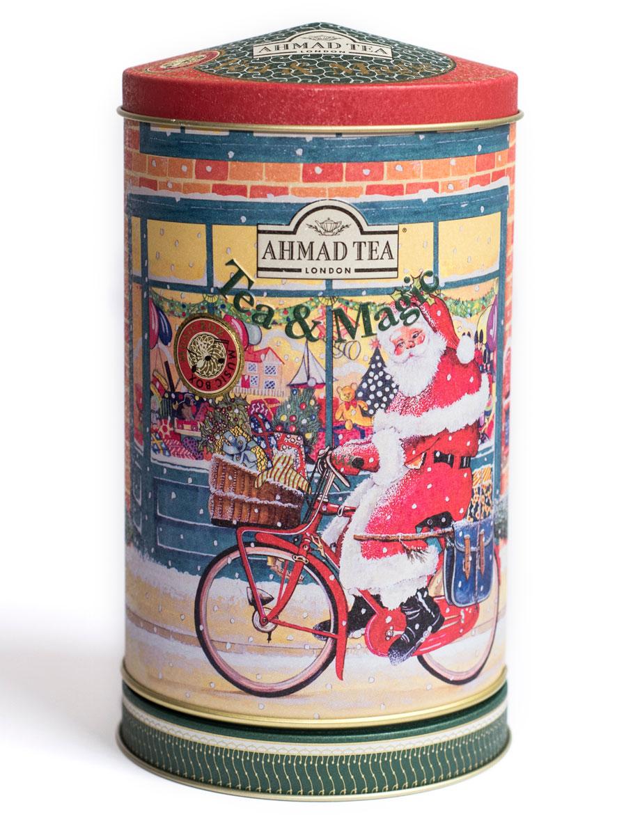 Ahmad Tea Orange Blossom черный чай, 80 г (музыкальная шкатулка)0120710В европейской традиции цветок апельсина считается символом любви. В честь него назвали букет невесты - флердоранж. Моду на них и на белые свадебные платья ввела английская королева Виктория в 19 веке. Чуть заметная сластинка и тонкий аромат составляют особенный легкий букет Ahmad Orange Blossom. Чай в необычной и яркой упаковке - музыкальной шкатулке будет прекрасным подарком для ваших друзей и близких!