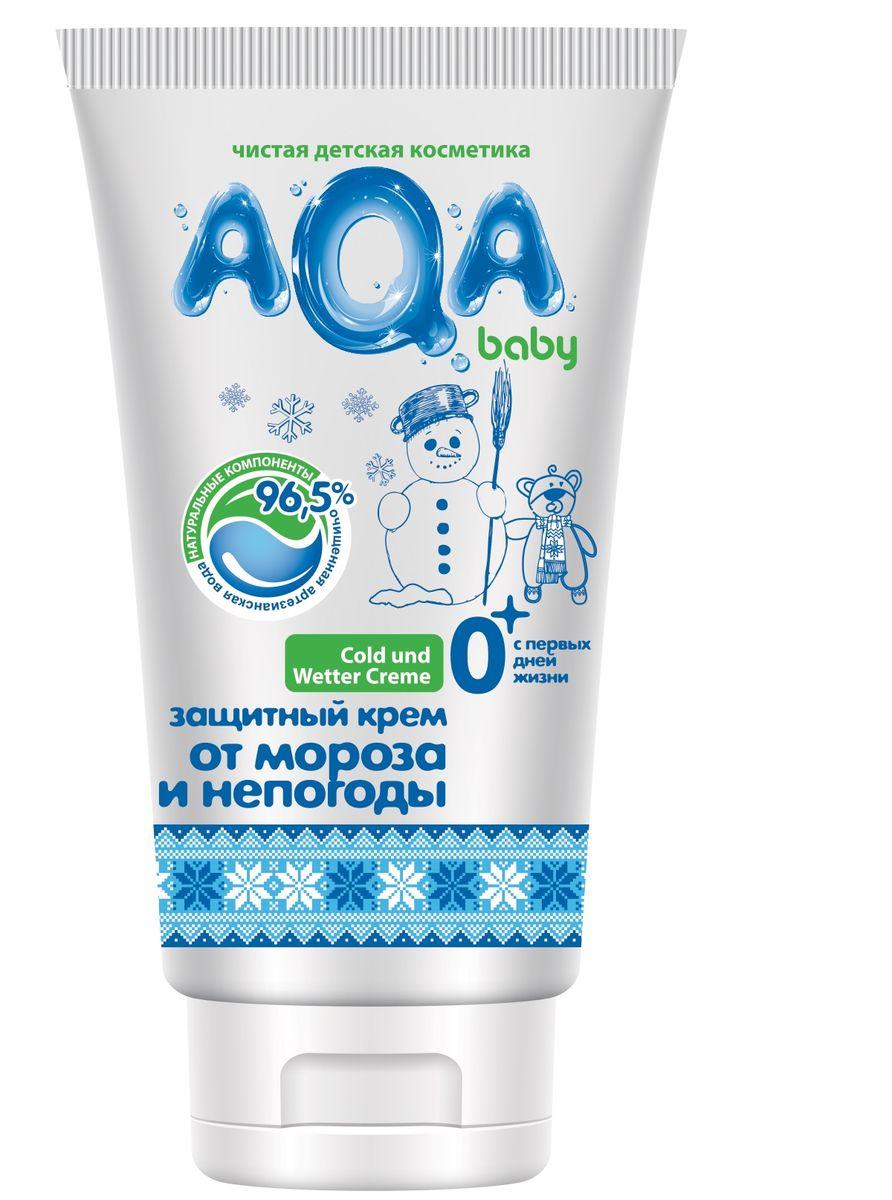 AQA Baby Защитный крем от мороза и непогоды, 50 мл02012104Эффективно защищает маленькие щечки и носик от неблагоприятного воздействия окружающей среды в осенне-зимний период. Интенсивно питает, создает защитный барьер, оказывает смягчающее действие на нежную кожу малыша благодаря натуральному пчелиному воску и маслам карите, жожоба и подсолнечника. Богатая, насыщенная формула крема защищает кожу от пересыхания и шелушения. Гипоаллергенен. Не содержит красителей. Используется с рождения.