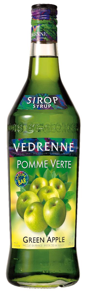 Vedrenne Зеленое Яблоко сироп, 1 л nano gum зеленое яблоко 25 гр с ароматом яблока