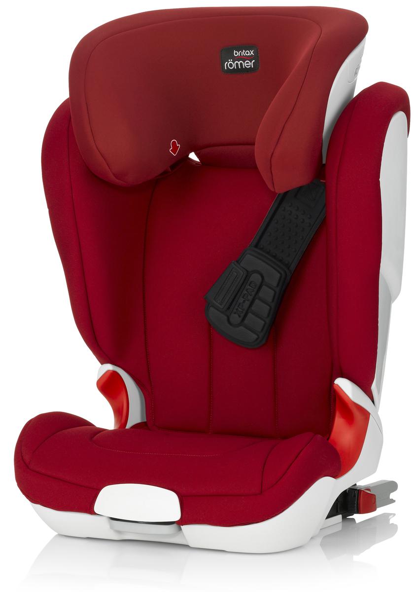 Romer Автокресло Kidfix XP Flame Red от 15 до 36 кг98293777Автокресло Romer Kidfix XP группы 2-3 предназначено для детей весом от 15 до 36 кг (3-12 лет). Установка по направлению движения автомобиля. Система безопасности XP-PAD обеспечивает равномерное распределение ударной нагрузки и дополнительную защиту шеи ребенка при лобовом столкновении. Глубокие, высокие и мягкие боковины обеспечивают оптимальную защиту от боковых ударов. Направляющие для быстрого и правильного монтажа ремней безопасности. Встроенные индикаторы показывают правильность установки детского кресла. Встроенные амортизаторы в места крепления ISOFIX. Быстросъемный моющийся чехол. Подголовник регулируется по высоте с фиксацией в 11 положениях. Особенности:Жесткая система Isofix для самого устойчивого крепления к корпусу автомобиля;Глубокая боковая защита, расширяющаяся кверху, для наилучшей защиты в любом возрасте;Верхние направляющие для ремня безопасности встроены в подголовник и регулируются по высоте одной рукой;Отсутствие подлокотников гарантирует правильно расположение поясной части ремня безопасности;Технология XP-PAD поглощает до 30% энергии удара при лобовом столкновении;V-образный подголовник для комфортного сна. Технология ISOFIX была изобретена компанией BRITAX&ROMER, совместно с Volkswagen в 1997 году. С 2011 года ISOFIX стал европейским стандартом. На сегодняшний день практически во всех современных автомобилях, выпущенных в Европе, Японии и Корее есть скобы Isofix. Это самое надежное и безопасное крепление детских автокресел, практически исключающее ошибки при установке. Система ISOFIT имеет только 2 точки крепления и была разработана специально для кресел группы 2-3, когда ребенок удерживается в кресле штатным ремнем автомобиля. Для установки автокресла с системой ISOFIT требуется меньше минуты. Инновационная система XP-PAD устанавливает новые стандарты в безопасности. Благодаря компрессионным элементам и воздушной подушке, XP-PAD поглощает до 30% больше энергии удара (по сравнению со