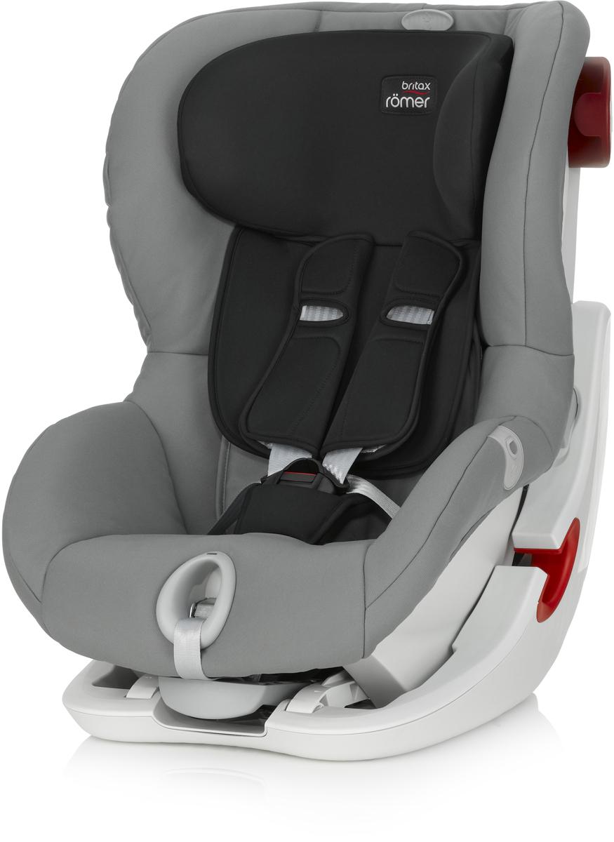 Romer Автокресло King II LS Steel Grey2000022570Кресло Romer King II LS оснащено уникальной системой световой индикации натяжения ремня безопасности и складывающимся вперед сиденьем для удобства установки. Установка в автомобиле с помощью штатного ремня безопасности.Индикатор определяет уровень натяжения внутреннего ремня автокресла. 5-точечные ремни безопасности, регулируемые одной рукой. Угол наклона регулируется в 4-х положениях. Система наклона кресла вперед обеспечивает улучшенный доступ и обзор при установке кресла в салоне автомобиля. Глубокие мягкие боковины обеспечивают оптимальную защиту при боковых столкновениях.Мягкие плечевые накладки на ремни для максимального комфорта. Съемный моющийся чехол. Батарейки включены в комплект поставки.