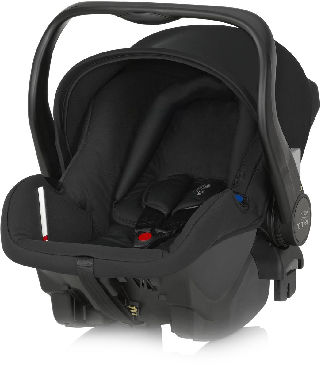 Romer Автокресло Primo Cosmos Black до 13 кг98293777Автокресло Romer Primo группы 0+ предназначено для детей весом до 13 кг (от рождения до 12 месяцев). Автокресло было разработано для родителей, которые ценят комфорт ребенка, простоту в обращении и удобство установки в любом автомобиле. Удобная ручка для переноса, регулируемый капюшон, встроенные адаптеры для коляски, оснащенной системой CLICK & GO, вставка для новорожденных из двух частей, легкость и простота установки в автомобиле - идеальное сочетание для создания Travel System - собственной системы путешествий. Автокресло Romer Primo создано, чтобы приносить только положительные эмоции.Особенности:Внутренний 3-точечный ремень безопасности регулируется всего одним движением руки.Специальный вкладыш для новорожденных, состоящий из 2 частей (подголовника с мягкими бортиками и подушки под спину), обеспечивает комфорт и безопасность во время сна. При необходимости вынимается, увеличивая свободное пространство внутри автокресла.Совместимость с детскими колясками BRITAX, оснащенными механизмом CLICK & GO.Съемный капор для защиты от солнца и ветра с защитой от УФ-излучения 50+. Эргономичная ручка для переноски: для ношения и использования в авто; для укладывания ребенка; для надежной установки за пределами автомобиля.Быстросъемный моющийся чехол с мягкой подкладкой, не требующий расцепления ремня безопасности.Изогнутое основание для укачивания или кормления.Глубокие боковины с мягкой обивкой и плечевые накладки на внутренних ремнях для еще большего комфорта ребенка.Быстрая и простая установка с помощью 3-точечного ремня безопасности автомобиля или специальной базы PRIMO.