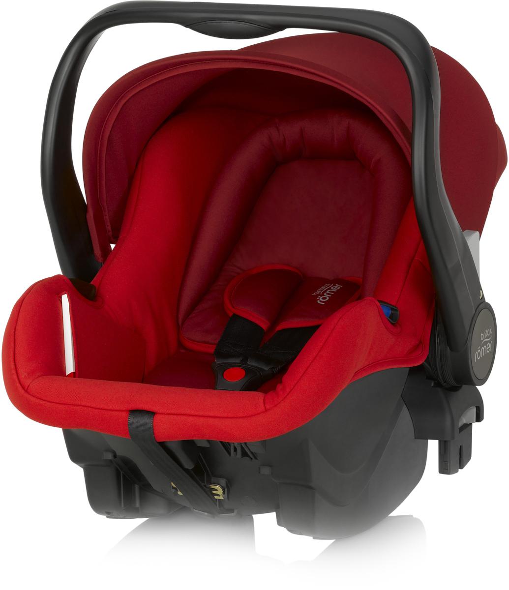 Romer Автокресло Primo Flame Red до 13 кг2000023038Автокресло Romer Primo группы 0+ предназначено для детей весом до 13 кг (от рождения до 12 месяцев). Автокресло было разработано для родителей, которые ценят комфорт ребенка, простоту в обращении и удобство установки в любом автомобиле. Удобная ручка для переноса, регулируемый капюшон, встроенные адаптеры для коляски, оснащенной системой CLICK & GO, вставка для новорожденных из двух частей, легкость и простота установки в автомобиле - идеальное сочетание для создания Travel System - собственной системы путешествий. Автокресло Romer Primo создано, чтобы приносить только положительные эмоции.Особенности:Внутренний 3-точечный ремень безопасности регулируется всего одним движением руки.Специальный вкладыш для новорожденных, состоящий из 2 частей (подголовника с мягкими бортиками и подушки под спину), обеспечивает комфорт и безопасность во время сна. При необходимости вынимается, увеличивая свободное пространство внутри автокресла.Совместимость с детскими колясками BRITAX, оснащенными механизмом CLICK & GO.Съемный капор для защиты от солнца и ветра с защитой от УФ-излучения 50+. Эргономичная ручка для переноски: для ношения и использования в авто; для укладывания ребенка; для надежной установки за пределами автомобиля.Быстросъемный моющийся чехол с мягкой подкладкой, не требующий расцепления ремня безопасности.Изогнутое основание для укачивания или кормления.Глубокие боковины с мягкой обивкой и плечевые накладки на внутренних ремнях для еще большего комфорта ребенка.Быстрая и простая установка с помощью 3-точечного ремня безопасности автомобиля или специальной базы PRIMO.