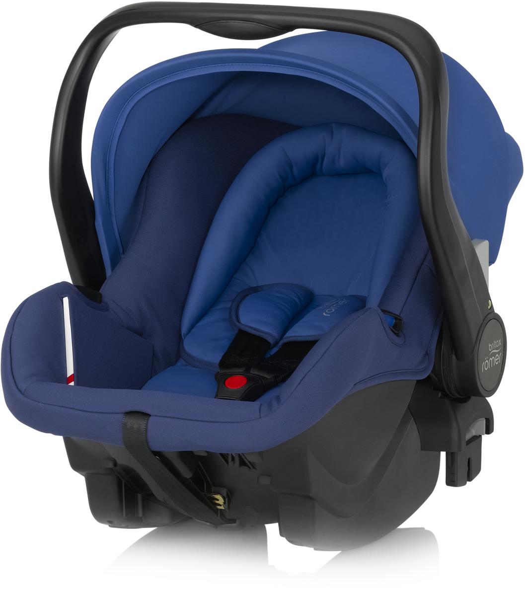 Romer Автокресло Primo Ocean Blue до 13 кг2000023039Автокресло Romer Primo группы 0+ предназначено для детей весом до 13 кг (от рождения до 12 месяцев). Автокресло было разработано для родителей, которые ценят комфорт ребенка, простоту в обращении и удобство установки в любом автомобиле. Удобная ручка для переноса, регулируемый капюшон, встроенные адаптеры для коляски, оснащенной системой CLICK & GO, вставка для новорожденных из двух частей, легкость и простота установки в автомобиле - идеальное сочетание для создания Travel System - собственной системы путешествий. Автокресло Romer Primo создано, чтобы приносить только положительные эмоции.Особенности:Внутренний 3-точечный ремень безопасности регулируется всего одним движением руки.Специальный вкладыш для новорожденных, состоящий из 2 частей (подголовника с мягкими бортиками и подушки под спину), обеспечивает комфорт и безопасность во время сна. При необходимости вынимается, увеличивая свободное пространство внутри автокресла.Совместимость с детскими колясками BRITAX, оснащенными механизмом CLICK & GO.Съемный капор для защиты от солнца и ветра с защитой от УФ-излучения 50+. Эргономичная ручка для переноски: для ношения и использования в авто; для укладывания ребенка; для надежной установки за пределами автомобиля.Быстросъемный моющийся чехол с мягкой подкладкой, не требующий расцепления ремня безопасности.Изогнутое основание для укачивания или кормления.Глубокие боковины с мягкой обивкой и плечевые накладки на внутренних ремнях для еще большего комфорта ребенка.Быстрая и простая установка с помощью 3-точечного ремня безопасности автомобиля или специальной базы PRIMO.