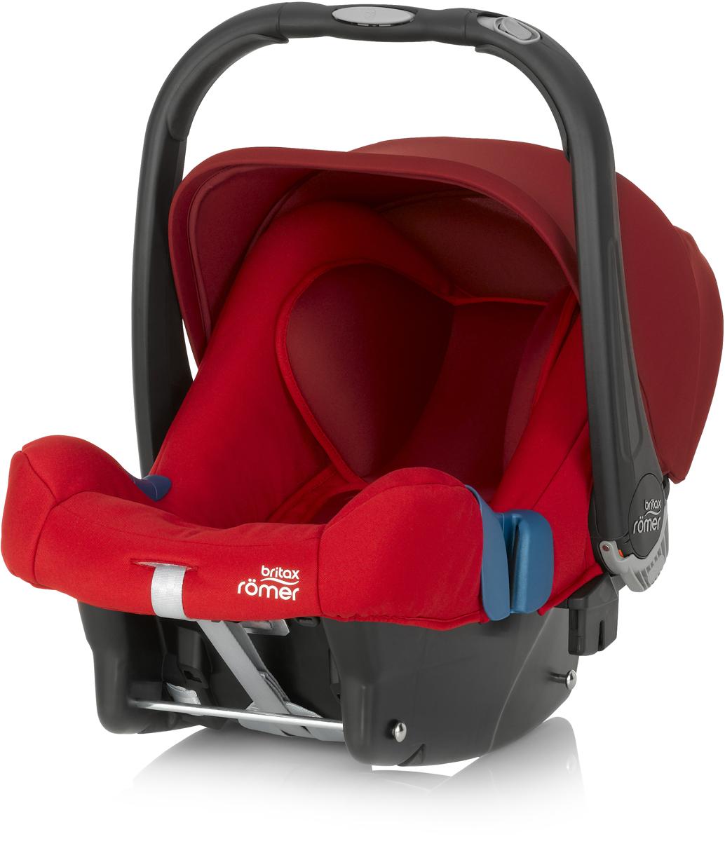 Romer Автокресло Baby-Safe Plus SHR II Flame Red до 13 кг2000023257Автокресло Romer Baby-Safe Plus SHR II группы 0+ предназначено для детей весом до 13 кг (от рождения до года). Мягкая, уютная обивка кресла из энергопоглощающих материалов, глубокие боковины, и дополнительная вставка для новорожденных создают уютное и безопасное место для ребенка с самого рождения. Пятиточечные ремни безопасности с централизованной системой натяжения и мягкими, энергопоглощающими плечевыми накладками, регулируются по высоте с помощью подголовника и надежно удерживают ребенка внутри автокресла. Встроенная система автоматического выравнивания действует при регулировке подголовника. Чем выше подголовник - тем просторней становится автокресло. Внутренние ремни безопасности также поднимаются автоматически, избавляя от ошибок самостоятельной регулировки. Travel System - система путешествий для активных родителей! Для приятной прогулки нужно поставить автокресло на раму коляски, обладающей механизмом CLICK & GO и мобильная коляска готова. Отсоединить автокресло от рамы можно одной рукой - для этого предусмотрена кнопка на ручке автокресла. Максимального комфорта в использовании и безопасности можно достичь, установив автокресло на ременную базу или на базу Isofix. Особенности:Пятиточечные ремни безопасности регулируются одной рукой.Подголовник регулируется вместе с ремнями безопасности по мере роста ребенка.Углубленная боковая защита с мягкими обеспечивает оптимальную боковую защиту.Солнцезащитный козырек для защиты нежной кожи ребенка.Многофункциональная ручка для переноски.Встроенные адаптеры CLICK & GO для создания системы путешествий.Съемный чехол не требует демонтажа внутренних ремней. Автокресло совместимо с колясками Britax и HARTAN. Мягкая обивка ручки для более удобной переноски кресла. Чехол для защиты от солнца и ветра с защитой от УФ-излучения 50+.