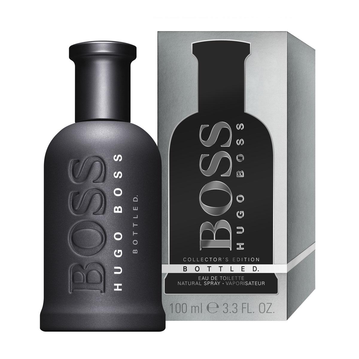 Hugo Boss Bottled Collectors Edition Туалетная вода 50 мл0737052806235Boss Bottled - бесспорно, один из самых успешных мужских ароматов. С тех пор как Boss Bottled появился на рынке в 1998 году, он входит в 10-ку бестселлеров. Культовый флакон с простыми, лаконичными формами стал классикой. Рельефный логотип и серебристая матовая крышечка довершают дизайн. Стильный, элеганттный, сдержанный - узнаваемый Boss. В композиции звучит красное яблоко, сладковатое, но свежее, и древесные ноты, которые придают аромату глубину и мужественность. Boss Bottled - завершающий элемент ежедневного гардероба успешных и амбициозных мужчин во всем мире. Boss - мужественный, уверенный бренд: Идеальный образ для Достижения успеха.Захватывающий, Смелый, Чувственный, Изысканный, но при этом абсолютно Мужественный аромат.