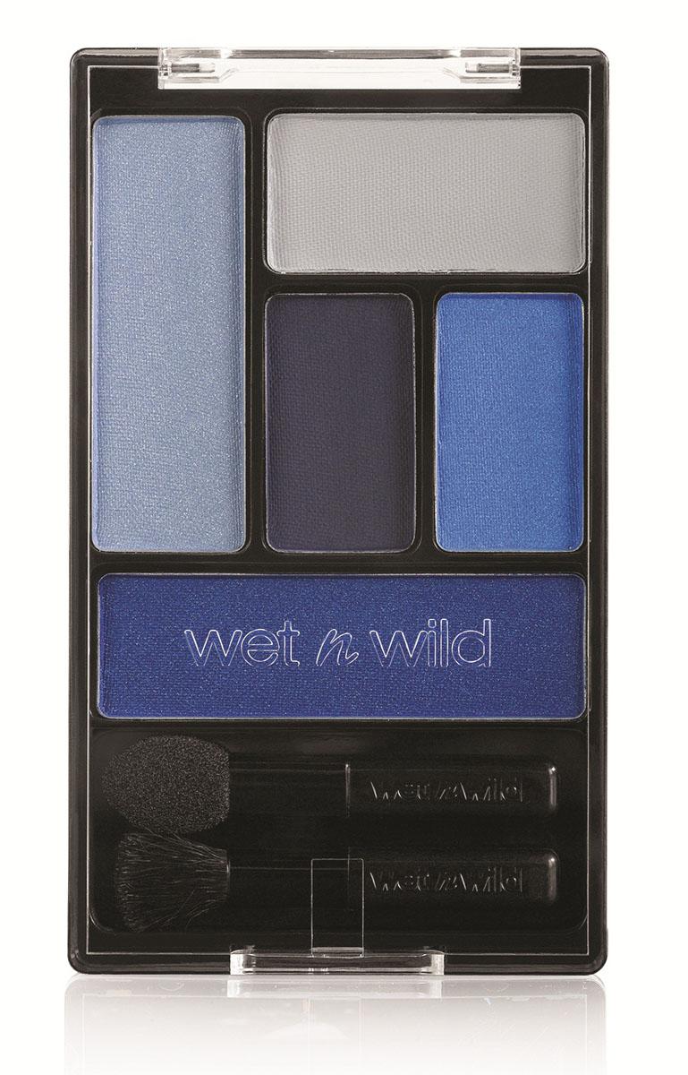 Wet n Wild Тени Для Век Набор (5 Тонов) Color Icon Eye Shadow Palette i`m his breezy 6 грSatin Hair 7 BR730MNНабор высокопигментированных теней для век. Включает в себя 5 оттенков.Аккуратно нанести на веки специальной кисточкой.