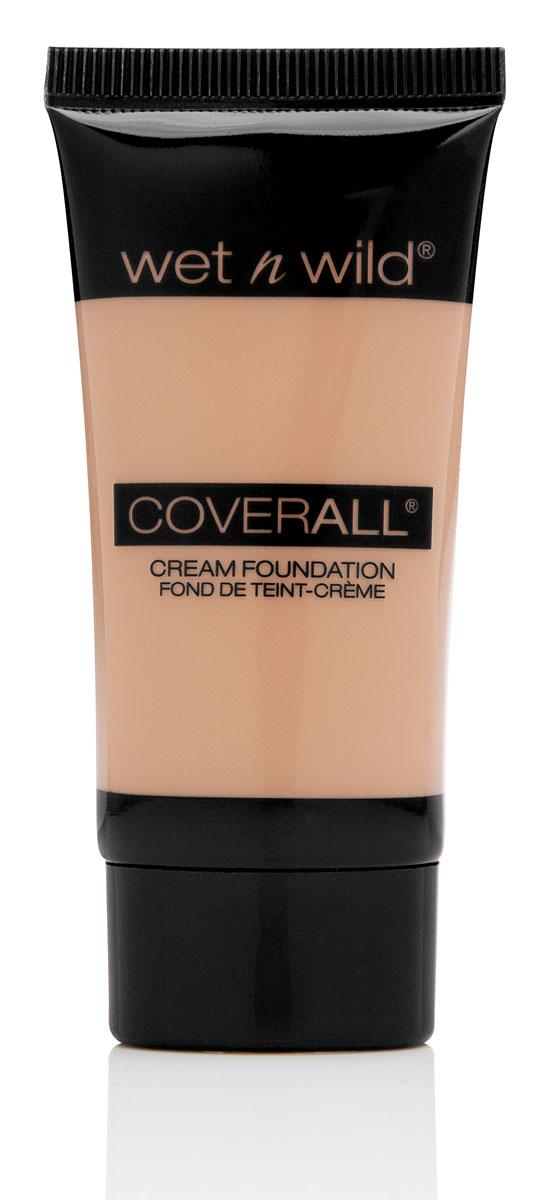 Wet n Wild Тональный крем Coverall, тон Light, 30 млE817Тональная основа , легкая текстура, не закупоривает поры, выравнивает тон кожи.Аккуратно нанести на лицо с помощью спонжа или кисти.