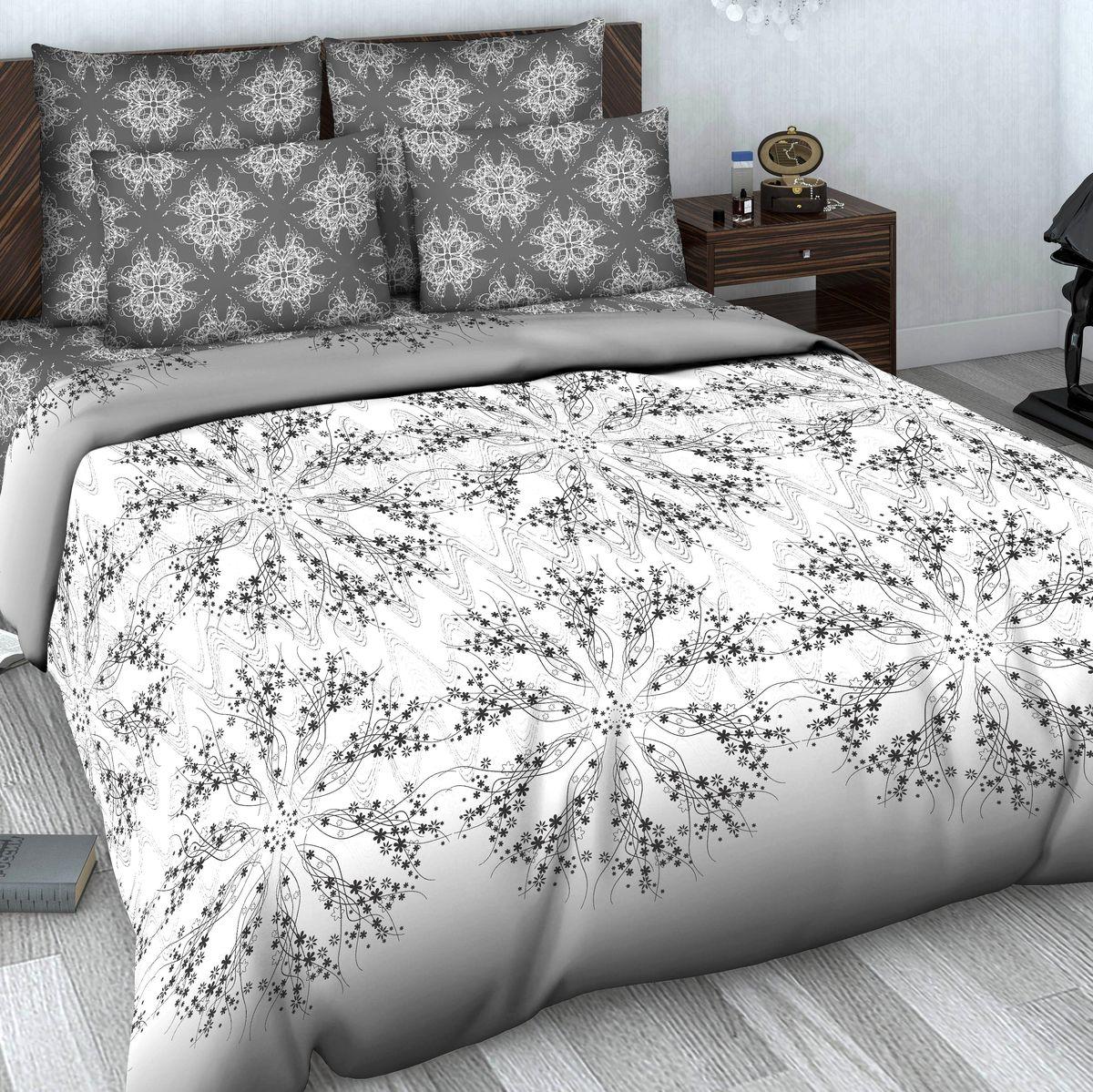 Комплект белья Василиса, 2-спальный, наволочки 70х70. 602/2706-2ФККомплект постельного белья Василиса состоит из пододеяльника, простыни и двух наволочек. Белье изготовлено из высококачественного сатина (100% хлопка). Постельное белье представляет собой блестящую и плотную ткань. Ткань очень приятна на ощупь, сатиновое постельное белье долговечно и выдерживает большое число стирок.Приобретая комплект постельного белья Василиса, вы можете быть уверены в том, что покупка доставит вам удовольствие и подарит максимальный комфорт.