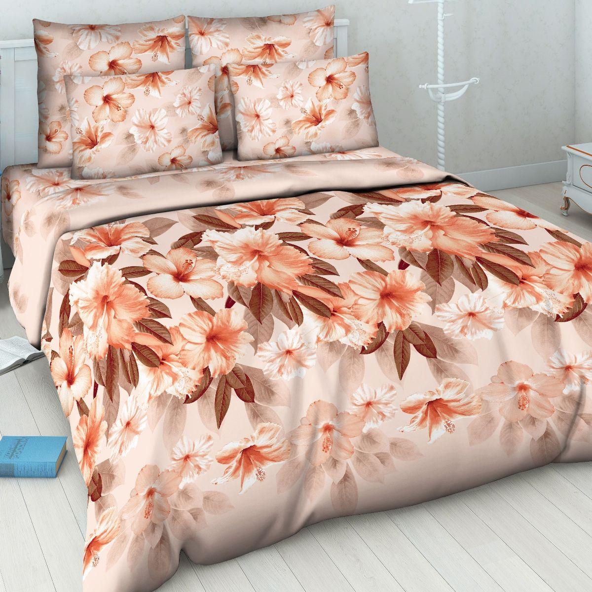 Комплект белья Василиса, 1,5-спальный, наволочки 70х70. 5114_1/1,5CA-3505Комплект постельного белья Василиса состоит из пододеяльника, простыни и двух наволочек. Белье производится из высококачественной бязи (100% хлопка).Использование особо тонкой пряжи делает ткань мягче на ощупь, обеспечивает легкое глажение и позволяет передать всю насыщенность цветовой гаммы. Благодаря более плотному переплетению нитей и использованию высококачественных импортных красителей постельное белье выдерживает до 70 стирок.Приобретая комплект постельного белья Василиса, вы можете быть уверены в том, что покупка доставит вам удовольствие и подарит максимальный комфорт.