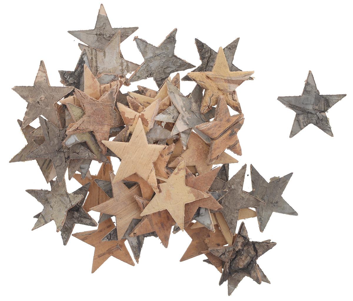 Декоративный элемент Dongjiang Art Звезда, цвет: натуральное дерево, 50 шт1055-SB Пакет Спортивный костюмДекоративный элемент Dongjiang Art Звезда, изготовленный из натуральной коры дерева, предназначен дляукрашения цветочных композиций. Изделие можно также использовать в технике скрапбукинг и многом другом.Флористика - вид декоративно-прикладного искусства, который использует живые, засушенные иликонсервированные природные материалы для создания флористических работ. Это целый мир, в котором естьместо и строгому математическому расчету, и вдохновению.Размеры одного элемента: 3 см х 2,5 см.
