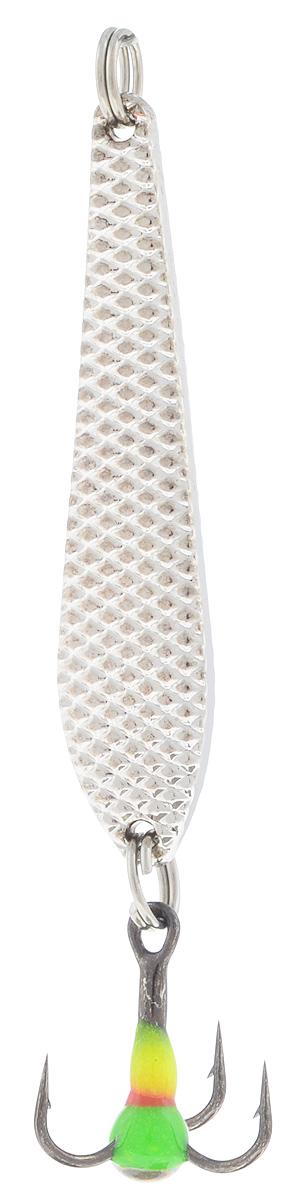 Блесна зимняя SWD, цвет: серебряный, 43 мм, 3 гNF-40305Блесна зимняя SWD - это классическая вертикальная блесна. Выполнена из высококачественного металла. Предназначена для отвесного блеснения рыбы. Блесна оснащена тройником со светонакопительной каплей.