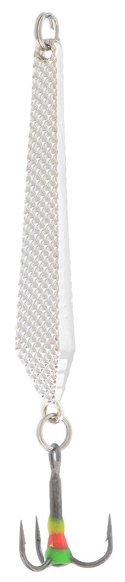Блесна зимняя SWD, цвет: серебряный, 55 мм, 6 гC1104NSB-001Блесна зимняя SWD - это классическая вертикальная блесна. Выполнена из высококачественного металла. Предназначена для отвесного блеснения рыбы. Блесна оснащена тройником со светонакопительной каплей.