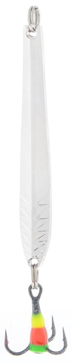 Блесна зимняя SWD, цвет: серебряный, 50 мм, 3 г41094Блесна зимняя SWD - это классическая вертикальная блесна. Выполнена из высококачественного металла. Предназначена для отвесного блеснения рыбы. Блесна оснащена тройником со светонакопительной каплей.