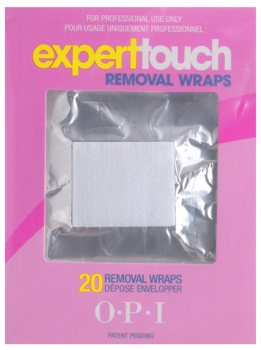 OPI Фольга-обертка Expert Touch Remover Pads, 20 шт28032022Фольга-обёртка OPI Expert Touch Remover Pads предназначена для быстрого удаления лаков-блесток, акриловых покрытий и нейл-арта. Квадратики фольги имеют впитывающие вкладыши, которые нужно смочить жидкостью Expert Touch OPI от и обернуть вокруг пальца. Плотность фольги такова, что она идеально обволакивает ногти и пальцы, не доставляет дискомфорта и не стесняет ваших движений.В упаковке: 20 штук.Товар сертифицирован.