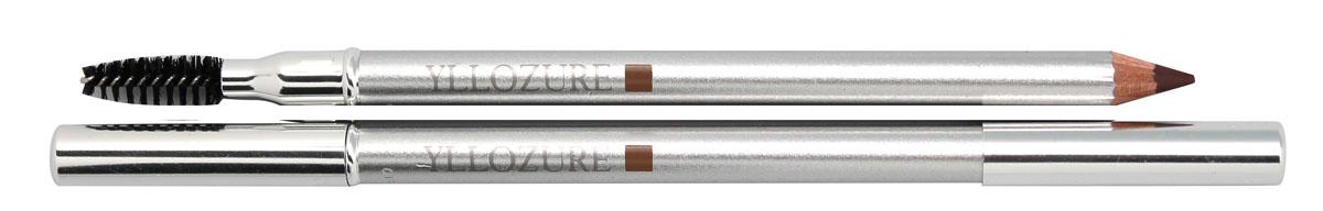 YZ Контур для бровей и век WET&DRY, тон 13, 1,2 г0454Карандаш для бровей и век – это уникальная разработка специалистов французской компании Yllozure, которая представляет собой специальный карандаш двойного действия, предназначенный для прорисовки и тонирования контура бровей. Благодаря особой формуле, лежащей в основе, карандаш одинаково хорош как во влажном, так и в сухом виде. Увлажненный грифель карандаша Yllozure оставляет яркий стойкий цвет, а сухой – тонирует бровь, слегка подчеркивая ее форму. Входящие в состав карандаша витаминные добавки и смягчающие масла заметно улучшают структуру волосков, делая ваши брови восхитительно гладкими, мягкими и блестящими. Очень нежный грифель карандаша позволяет использовать его для подводки глаз. Помимо традиционного грифеля, карандаш имеет еще одну рабочую поверхность – миниатюрную щеточку, предназначенную для расчесывания ресниц и бровей. Благодаря карандашу Yllozure ваши брови приобретут безупречный ухоженный вид и станут удивительно мягкими, блестящими и гладкими.