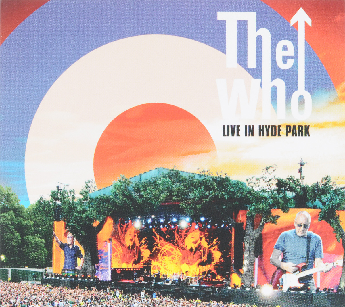 The Who The Who. Live At Hyde Park (2 CD + DVD) the who the who quadrophenia super deluxe limited edition 4 cd dvd lp