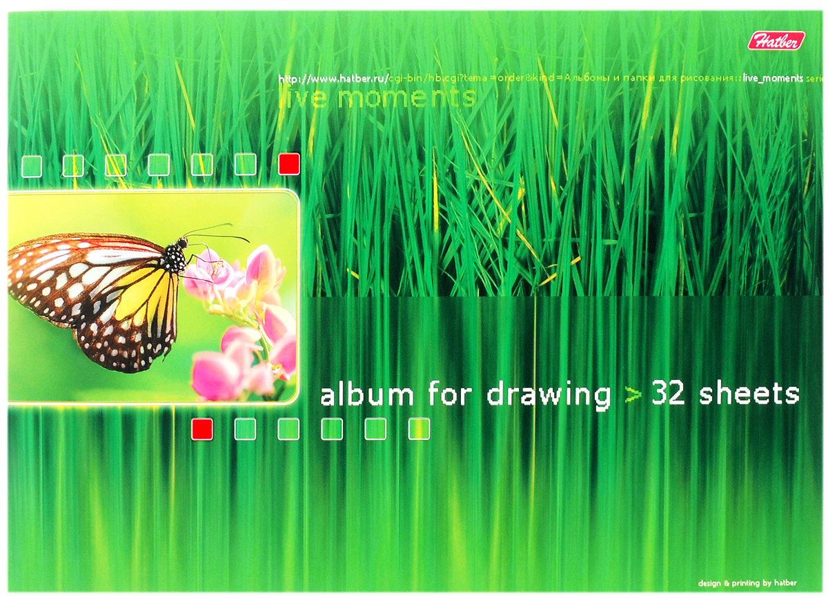 Hatber Альбом для рисования Живые моменты 32 листа 0826872523WDАльбом для рисования Hatber Живые моменты непременно порадует маленького художника и вдохновит его на творчество. Альбом изготовлен из белоснежной бумаги с яркой обложкой из плотного картона, оформленной красочным изображением. В альбоме 32 листа. Способ крепления - металлические скрепки. Высокое качество бумаги позволяет рисовать в альбоме карандашами, фломастерами, акварельными и гуашевыми красками.Занимаясь изобразительным творчеством, ребенок тренирует мелкую моторику рук, становится более усидчивым и спокойным и, конечно, приобщается к общечеловеческой культуре.