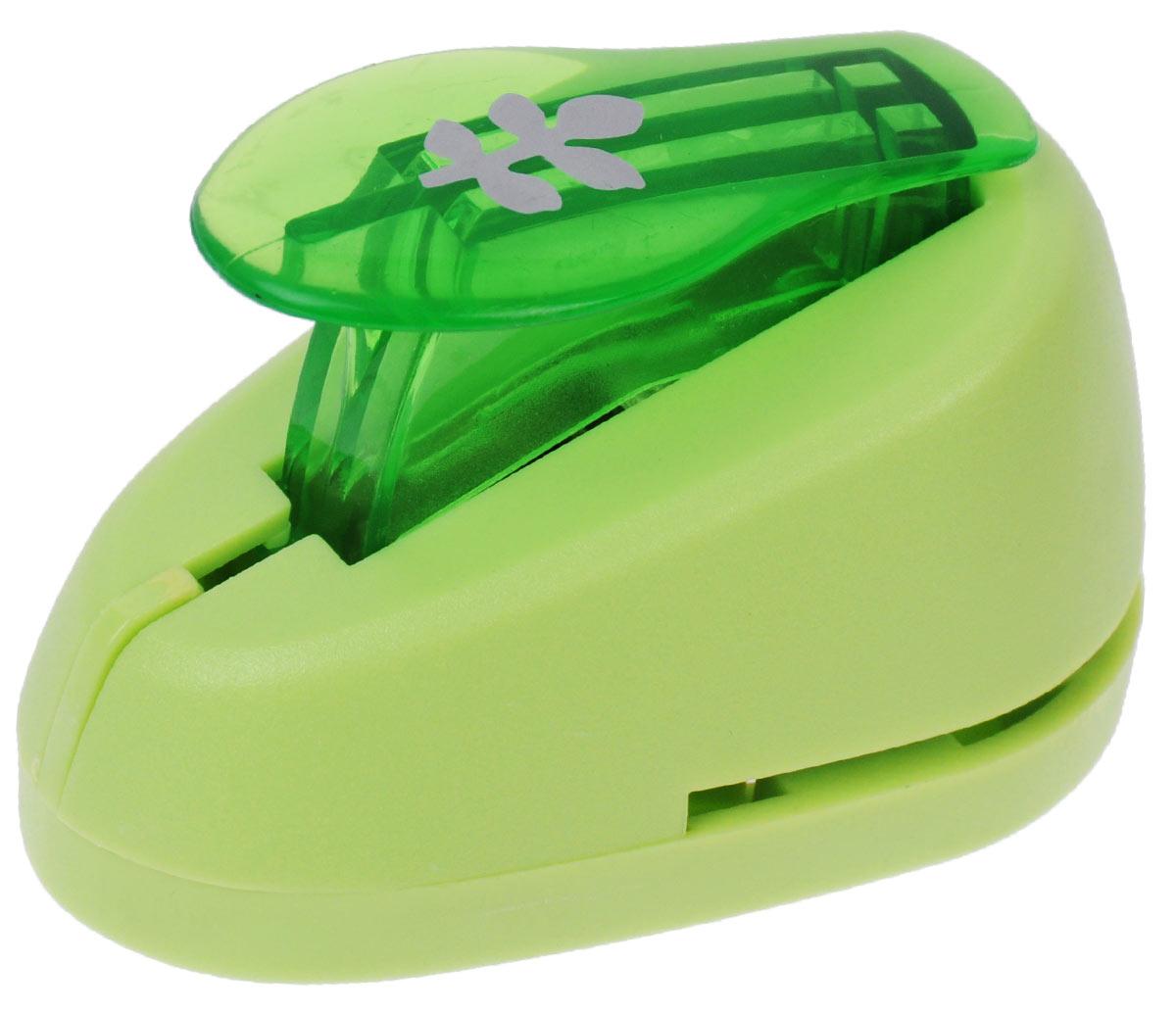 Дырокол фигурный Hobbyboom Веточка, №338, цвет: зеленый, 1,8 смFS-00897Фигурный дырокол Hobbyboom Веточка изготовлен из пластика и металла, используется в скрапбукинге для создания оригинальных открыток, оформления подарков, в бумажном творчестве и т.д. Рисунок прорези указан на ручке дырокола.Используется для прорезания фигурных отверстий в бумаге. Вырезанный элемент также можно использовать для украшения.Предназначен для бумаги определенной плотности - 80 - 200 г/м2. При применении на бумаге большей плотности или на картоне, дырокол быстро затупится.