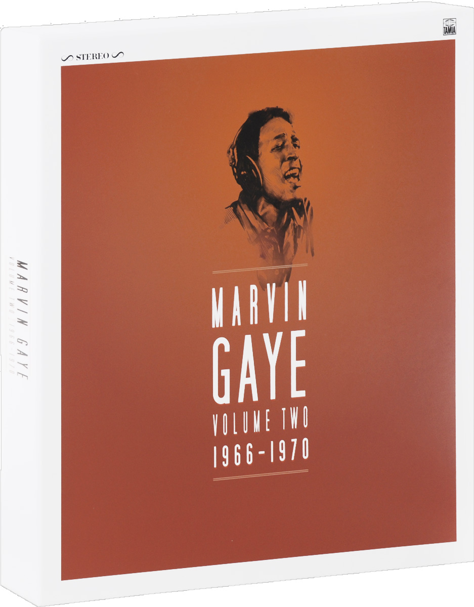 Марвин Гэй Marvin Gaye. Volume Two. 1966 - 1970 (8 LP) john constantine hellblazer volume 2 the devil you know