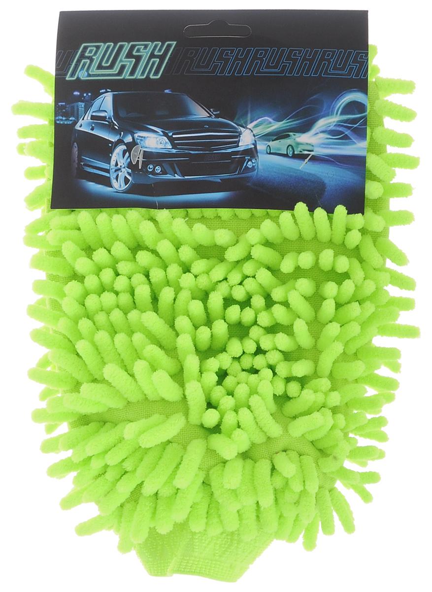 Рукавица для уборки салона автомобиля Eva, цвет: салатовый, 26 см х 19 смRC-100BPCДвусторонняя рукавица Eva, изготовленная из микрофибры (полиэстера, полиамида), легко удаляет пыль, деликатно моет поверхности, мягко удаляет сильные загрязнения. Применяется как в сухом, так и во влажном виде. Рукавица удобно держится на руке и великолепно впитывает воду. Идеально подходит для уборки в салоне автомобиля.