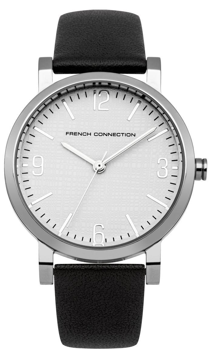 Часы наручные женские French Connection , цвет: стальной, черный. FC1249BBM8434-58AEЭлегантные женские часы French Connection выполнены из нержавеющей стали, натуральной кожи и минерального стекла. Циферблат часов дополнен символикой бренда.Корпус часов оснащен кварцевым механизмом, имеет степень влагозащиты равную 3 atm, а также дополнен устойчивым к царапинам минеральным стеклом. Ремешок часов оснащен классической пряжкой, которая позволит с легкостью снимать и надевать изделие.Часы поставляются в фирменной упаковке.Часы French Connection подчеркнут изящность женской руки и отменное чувство стиля у их обладательницы.