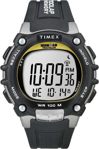 Наручные часы мужские Timex, цвет: серый. T5E231BM8434-58AEКорпус 44мм, ремешок из прочного силикона, таймер 100 laps, таймер обратного отсчета, будильник, водозащита 10АТМ, подтсветка INDIGLO