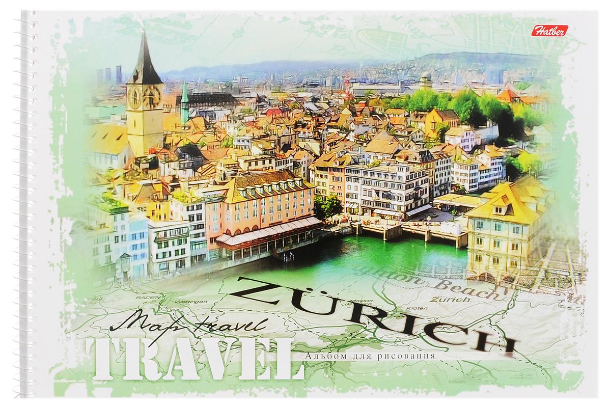 Hatber Альбом для рисования Zurich 32 листа32А4Bсп_ZurichАльбом для рисования Hatber Zurich прекрасно подходит для рисования карандашами, фломастерами, акварельными и гуашевыми красками.Обложка выполнена из плотного картона и оформлена изображением города Цюриха. В альбоме 32 листа. Крепление - спираль. На листах тонким пунктиром выполнена перфорация для последующего их отрыва. Альбом для рисования непременно порадует художника и вдохновит его на творчество. Рисование позволяет развивать творческие способности, кроме того, это увлекательный досуг.