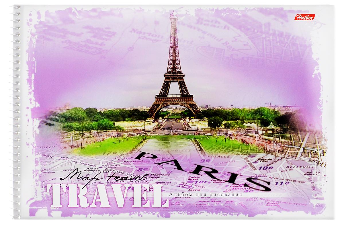 Hatber Альбом для рисования Paris 32 листа72523WDАльбом для рисования Hatber Paris прекрасно подходит для рисования карандашами, фломастерами, акварельными и гуашевыми красками.Обложка выполнена из плотного картона и оформлена изображением города Парижа. В альбоме 32 листа. Крепление - спираль. На листах тонким пунктиром выполнена перфорация для последующего их отрыва. Альбом для рисования непременно порадует художника и вдохновит его на творчество. Рисование позволяет развивать творческие способности, кроме того, это увлекательный досуг.