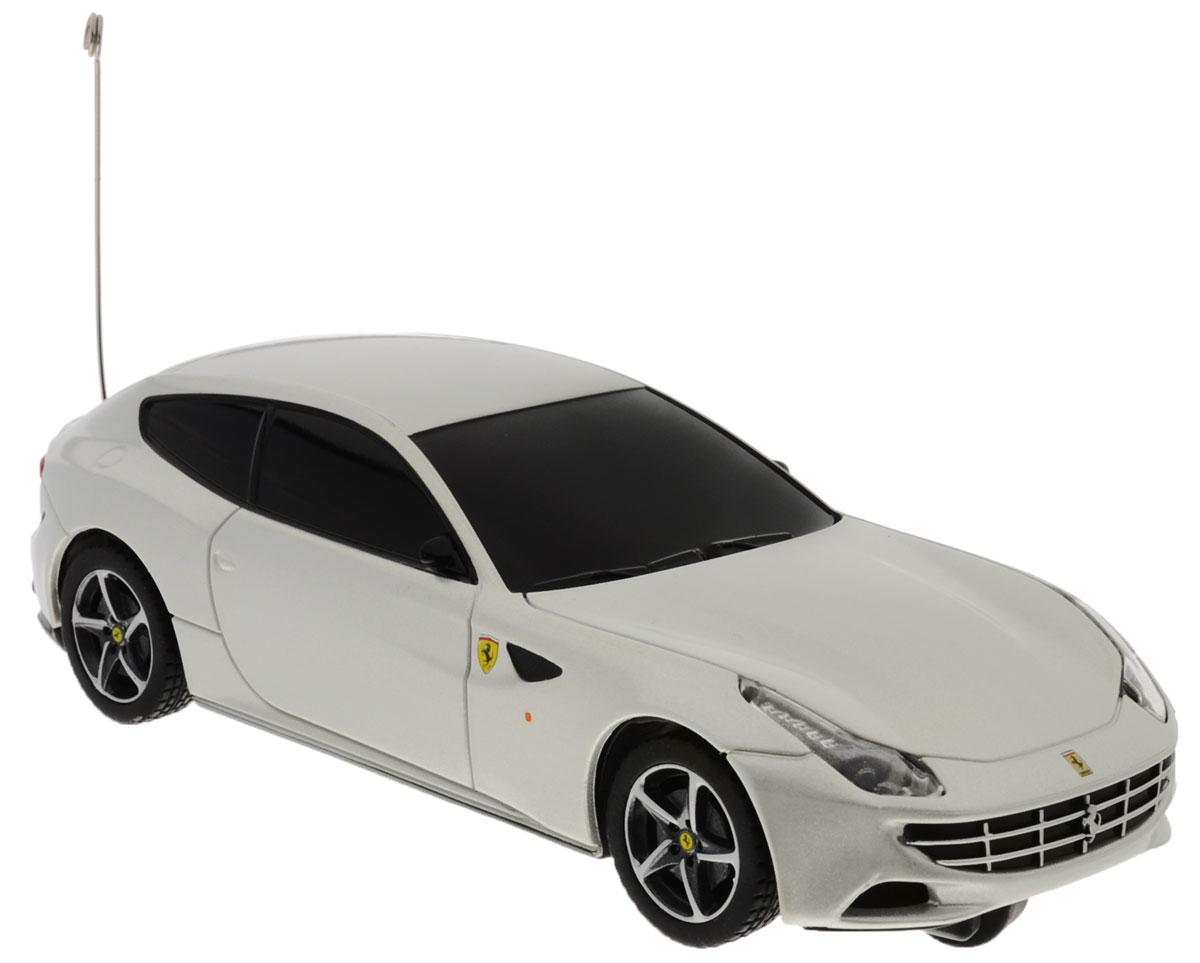 """Радиоуправляемая модель Rastar """"Ferrari FF"""" станет отличным подарком любому мальчику! Это точная копия настоящего авто в масштабе 1:32. Возможные движения: вперед, назад влево. Пульт управления работает на частоте 40 MHz. Для работы игрушки необходимы 2 батарейки типа АА (не входят в комплект). Для работы пульта управления необходимы 2 батарейки типа АА (не входят в комплект)."""