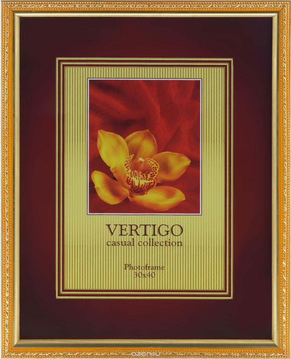 Фоторамка Vertigo Molise, цвет: золотистый, 21 х 30 смPlatinum JW110-1 МИЛАН-ОРАНЖЕВЫЙ 21x30Фоторамка Vertigo Molise выполнена в классическом стиле из натурального дерева и стекла, защищающего фотографию. Изделие декорировано рельефным узором по периметру. Рамка оснащена двумя специальными отверстиями для подвешивания на стену, а также ножкой-подставкой. Такая фоторамка поможет вам оригинально и стильно дополнить интерьер помещения, а также позволит сохранить память о дорогих вам людях и интересных событиях вашей жизни.