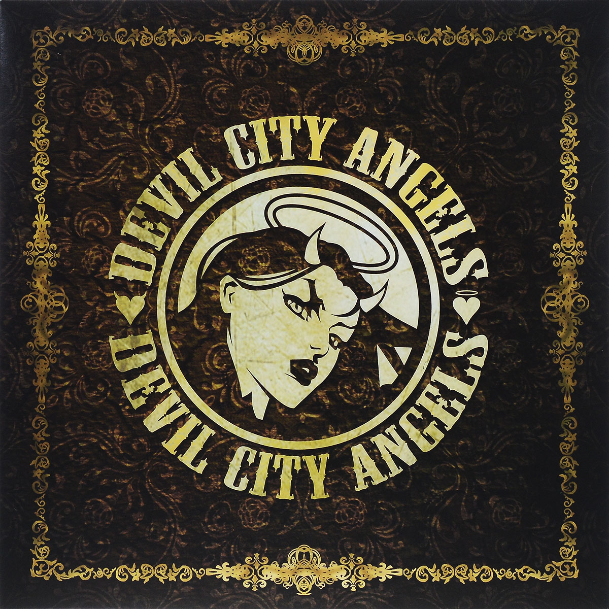 Devil City Angels Devil City Angels. Devil City Angels (LP) резинка для волос черная tais ут 00017860