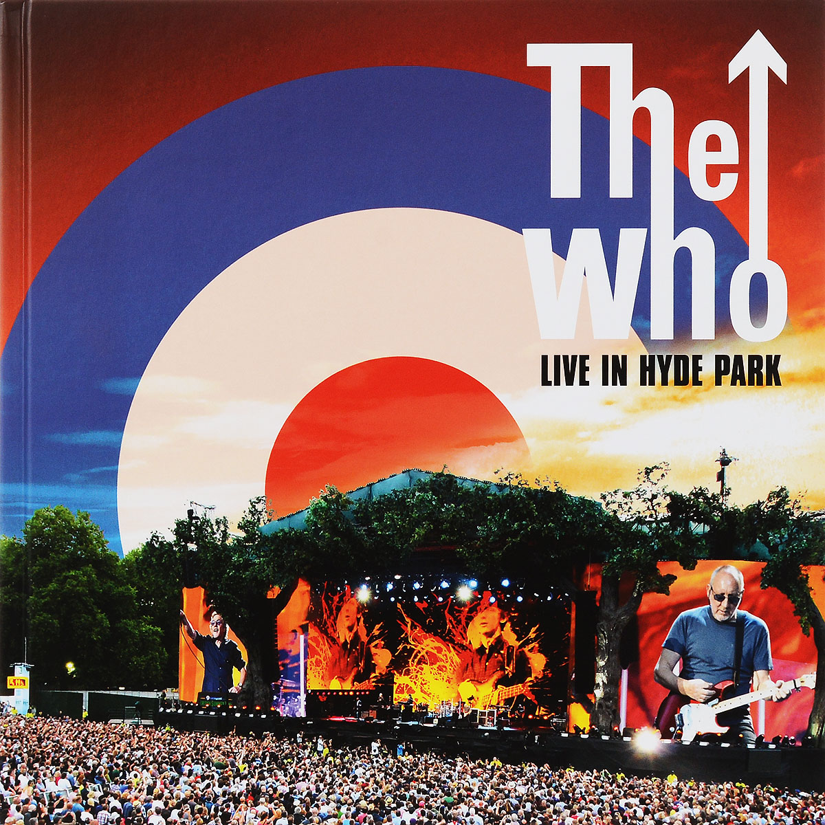 The Who The Who. Live At Hyde Park (2 CD + DVD + Blu-ray) europe live at shepherd s bush london blu ray