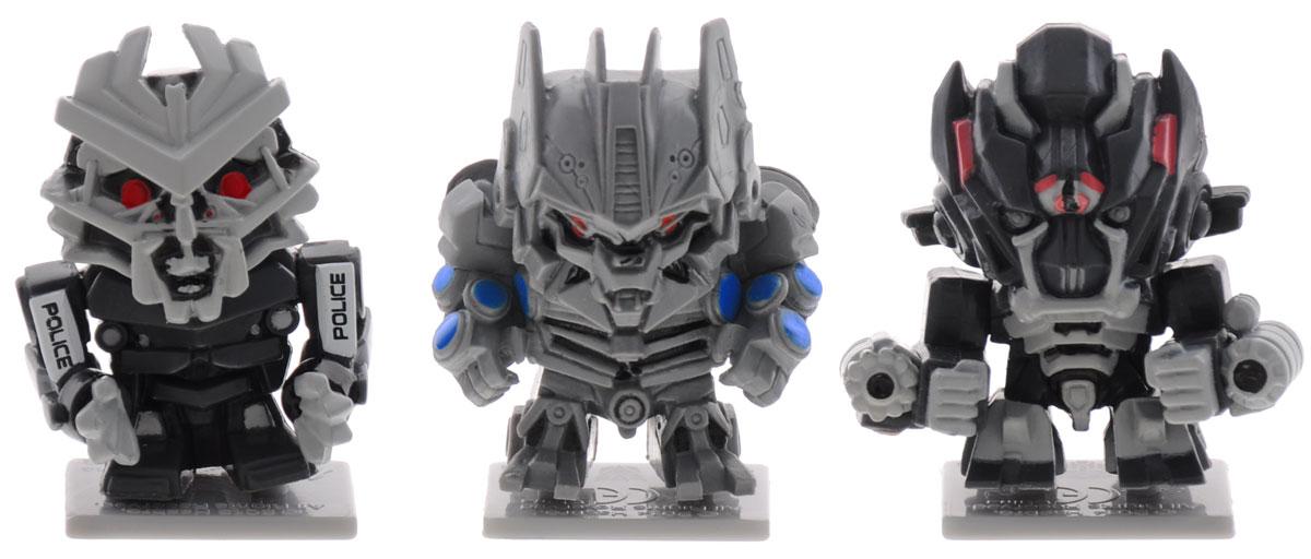 Transformers Набор коллекционных фигурок 3 шт цвет серый черный handif automatic tape dispenser machine at60