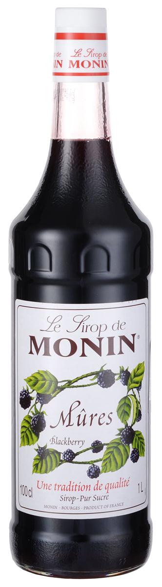 Monin Ежевика сироп, 1 л0120710Ежевика – родная ягода для всего Северного полушария, очень популярный аромат во многих культурах. Существует несколько сортов ежевики, которые различаются по вкусу. Ежевику можно найти на рынках, и она самая вкусная в конце лета. Однако, благодаря сиропу Monin Ежевика, вы сможете насладиться вкусом спелой ежевики в течение всего года.ВКУССироп Monin Ежевика принесет вам запах лета. Сладкий и острый вкус этого сиропа даст возможность создавать множество приложений. ПРИМЕНЕНИЕГазированные напитки, коктейли, Фруктовые пунши, мокко, кофе.Сиропы Monin выпускает одноименная французская марка, которая известна как лидирующий производитель алкогольных и безалкогольных сиропов в мире. В 1912 году во французском городке Бурже девятнадцатилетний предприниматель Джордж Монин основал собственную компанию, которая специализировалась на производстве вин, ликеров и сиропов. Место для завода было выбрано не случайно: город Бурже находился в непосредственной близости от крупных сельскохозяйственных районов - главных поставщиков свежих ягод и фруктов. Производство сиропов стало ключевым направлением деятельности компании Monin только в 1945 году, когда пост главы предприятия занял потомок основателя - Пол Монин. Именно под его руководством ассортимент марки пополнился разнообразными сиропами из натуральных ингредиентов, которые молниеносно заслужили блестящую репутацию в кругу поклонников кофейных напитков и коктейлей. По сей день высокое качество остается базовым принципом деятельности французской марки. Сиропы Монин создаются исключительно из натуральных ингредиентов по уникальным технологиям, позволяющим сохранять в готовом продукте все полезные свойства природного сырья.Эксперты всего мира сходятся во мнении, что сиропы Monin - это законодатели мод в миксологии. Ассортимент французской марки на сегодняшний день является самым широким и насчитывает полторы сотни уникальных вкусовых решений. В каталоге компании можно найти как классические вкусы для к